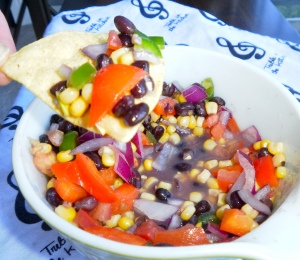 Corn and Blackbean Salsa